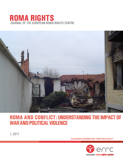 ERRC journal covers the treatment of Roma in war